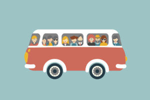 Business is a road trip - who's on board your bus?